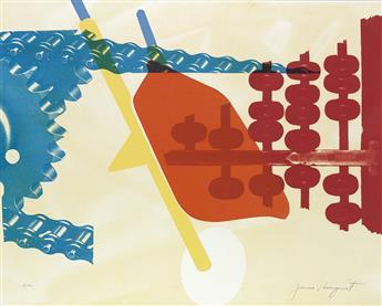 JAMES ROSENQUIST Two prints.