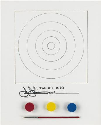JASPER JOHNS (after) Technics and Creativity II