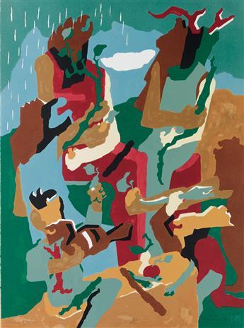 JACOB LAWRENCE (1917 - 2000) Celebration of Heritage.