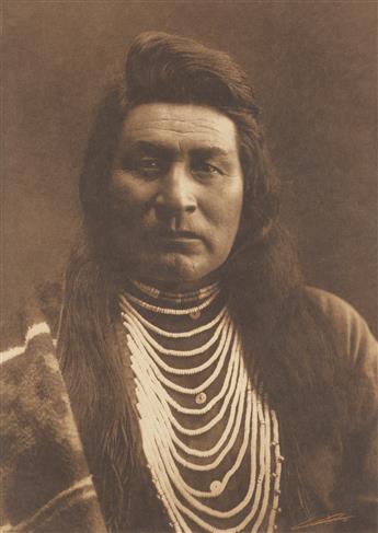 EDWARD S. CURTIS (1868-1952) Typical Nez Perce.