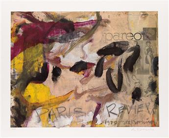 WILLEM DE KOONING Paris Review.