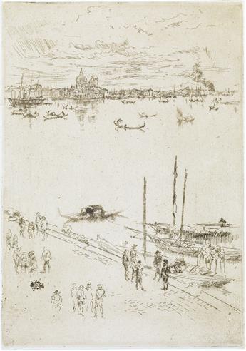 JAMES A. M. WHISTLER Upright Venice.