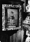 ROBERT DOISNEAU (1912-1994) Group of 25 Parisian photographs on 15 sheets of kitschy curisoities and antiques associated with au mauva