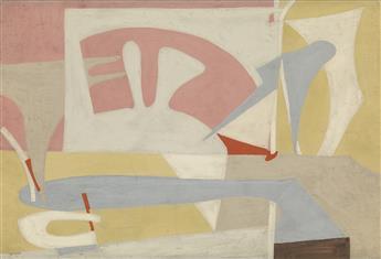 ESPHYR SLOBODKINA Abstract Composition.