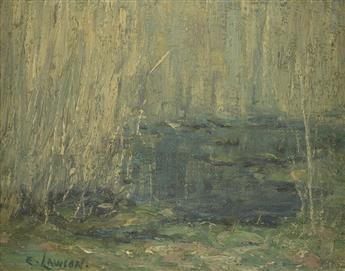 ERNEST LAWSON Swamp Willows.