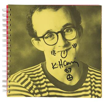 HARING, KEITH / CONTEMPORARY ART. Pincus-Witten, Robert; et al. Keith Haring: Tony Shafrazi Gallery exhibition catalogue.