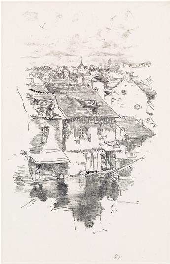JAMES A. M. WHISTLER Vitré: The Canal.