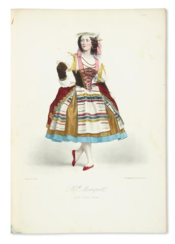 (COSTUME / BALLET.) Alophe, Menut [Marie-Alexander]. Les Danseuses de LOpera: Costumes des Principaux Ballets.