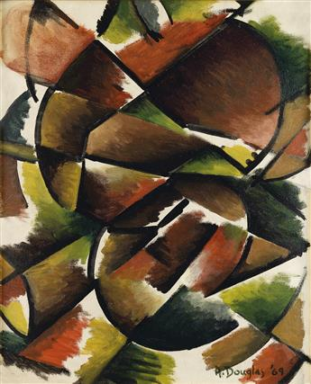 AARON DOUGLAS (1899 - 1979) Creation.