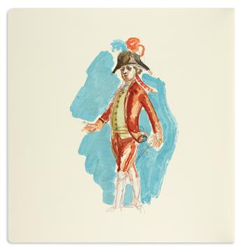 (BALTHUS / LIMITED EDITIONS CLUB.) Mozart, Wolfgang Amadeus. Cosi Fan Tutte.