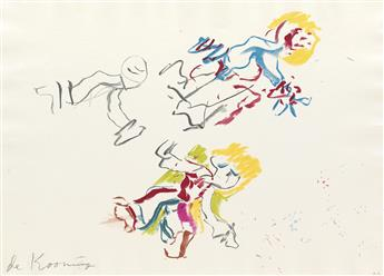 WILLEM DE KOONING For Lisa.