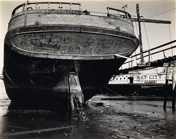 WESTON, BRETT (1911-1993) Boat, Bay City (San Francisco).