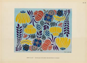 (DESIGN.) Gillet, Henri. Nouvelles Fantaisies Decoratives.