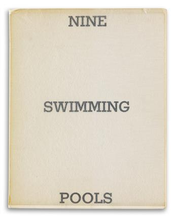EDWARD RUSCHA. Nine Swimming Pools and Broken Glass * Real Estate Opportunities.