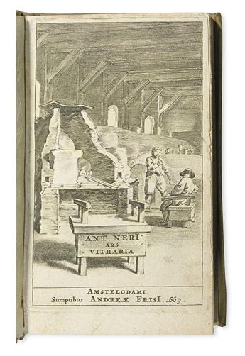 NERI, ANTONIO. De arte vitraria libri septem.  1669
