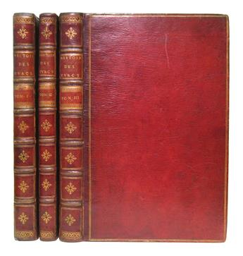 CHALKOKONDYLES, LAONIKOS. LHistoire de la Décadence de lEmpire Grec. Parts 1-2 (of 3) in 3 vols. 1612