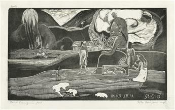 PAUL GAUGUIN Maruru.
