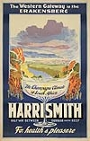 ANONYMOUS HARRISMITH. Circa 1930. 40x25 inches. William Brown & Davis, Ltd., Durban.