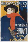 HENRI DE TOULOUSE-LAUTREC (1864-1901) AMBASSADEURS. 1892. 56x37 inches. Edw. Ancourt, Paris.