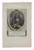 CAPITEIN, JACOBUS ELISA JOANNES. Copper Engraving by Abrah[am] Kallevier,