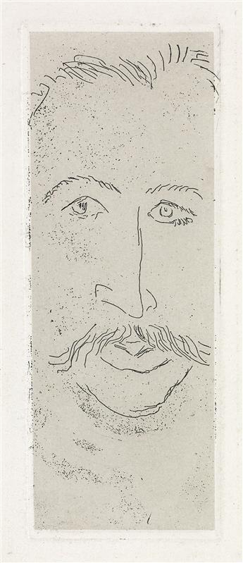 HENRI MATISSE Portrait de Walter Pach.