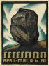 RICHARD HARLFINGER (1873-1948) SECESSION. Circa 1910. 24x18 inches. R. Berger, Wein.