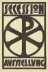 LEOPOLD STOLBA 1863-1929 SECESSION AUSSTELLUNG. 1905. 25x17 inches. Alb. Berger, Wein.