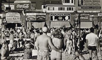 MAX YAVNO (1911-1985) Muscle Beach.