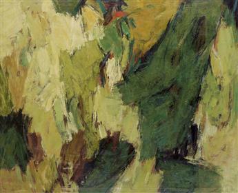 HALE WOODRUFF (1900 - 1980) Landscape No. 2.