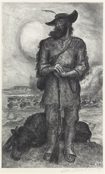 JOHN STEUART CURRY The Plainsman.