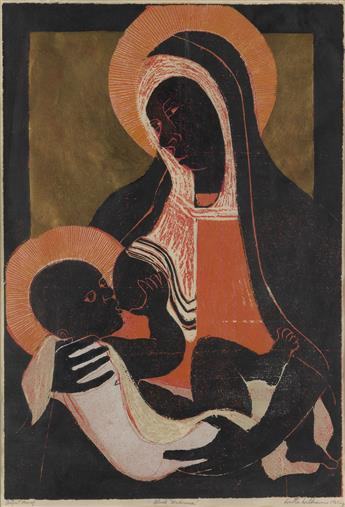 WALTER WILLIAMS (1920 - 1988) Black Madonna.