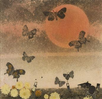 WALTER WILLIAMS (1920 - 1988) Untitled (Butterflies).