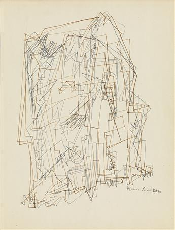NORMAN LEWIS (1909 - 1979) Untitled (Processional Composition).