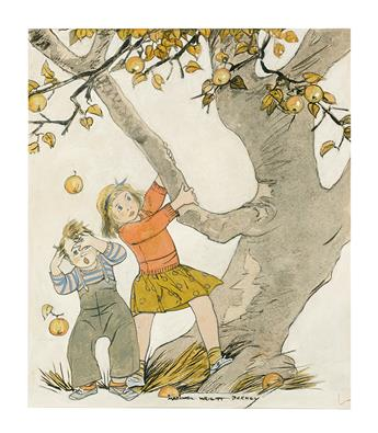 MAGINEL WRIGHT ENRIGHT BARNEY. The Apple Tree.