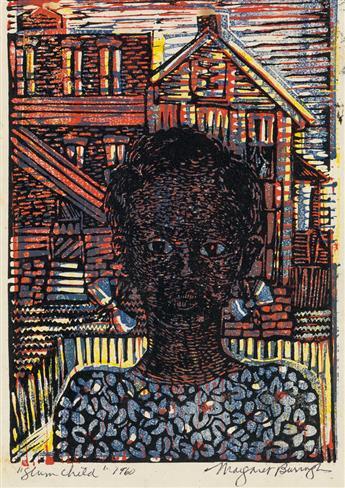 MARGARET BURROUGHS (1917 - 2010) Slum Child.