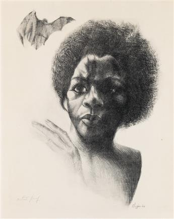JOHN BIGGERS (1924 - 2001) Untitled.