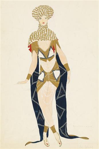 UMBERTO BRUNELLESCHI. Venetian costume design.