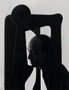 NEWMAN, ARNOLD (1918-2006) Isamu Noguchi, N.Y.C.