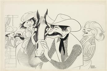 AL HIRSCHFELD. (FILM) Caseys Shadow.