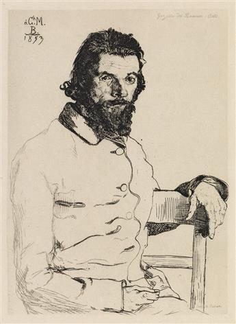 FÉLIX BRACQUEMOND Charles Meryon.