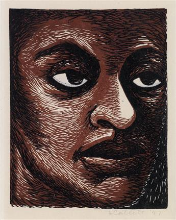 ELIZABETH CATLETT (1915 - 2012) Untitled (I am the Negro Woman).