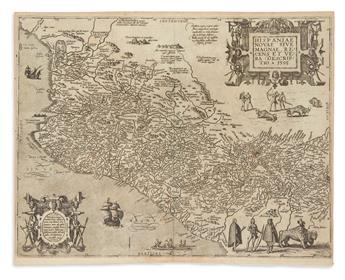 DE BRY, THEODORE. Group of 28 engraved illustrations and 1 map
