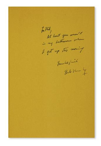 KENNEDY, ROBERT F. The Pursuit of Justice. Inscribed and Signed, Bob Kennedy, on the front free endpaper: