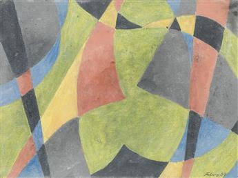 HERBERT FERBER Abstract Composition.