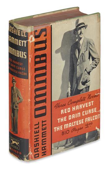 HAMMETT, DASHIELL. Omnibus. Red Harvest; The Dain Curse; The Maltese Falcon.