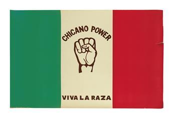 (MEXICAN AMERICANS.) Chicano Power--Viva la Raza.