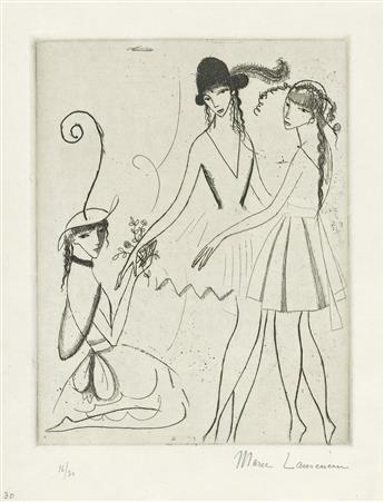 MARIE LAURENCIN Iphigénie (ou Les Trois Danseuses).