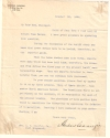 CARNEGIE, ANDREW. Typed Letter Signed,