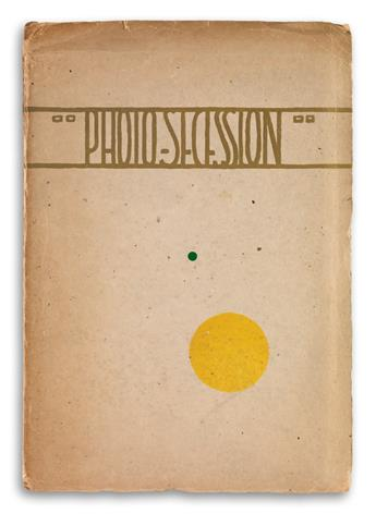 (STIEGLITZ, ALFRED.) Photo-Secession.