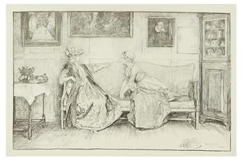 GOLDSMITH, OLIVER / EDWIN AUSTIN ABBEY. She Stoops to Conquer.